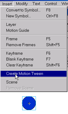 how to make a motion tween