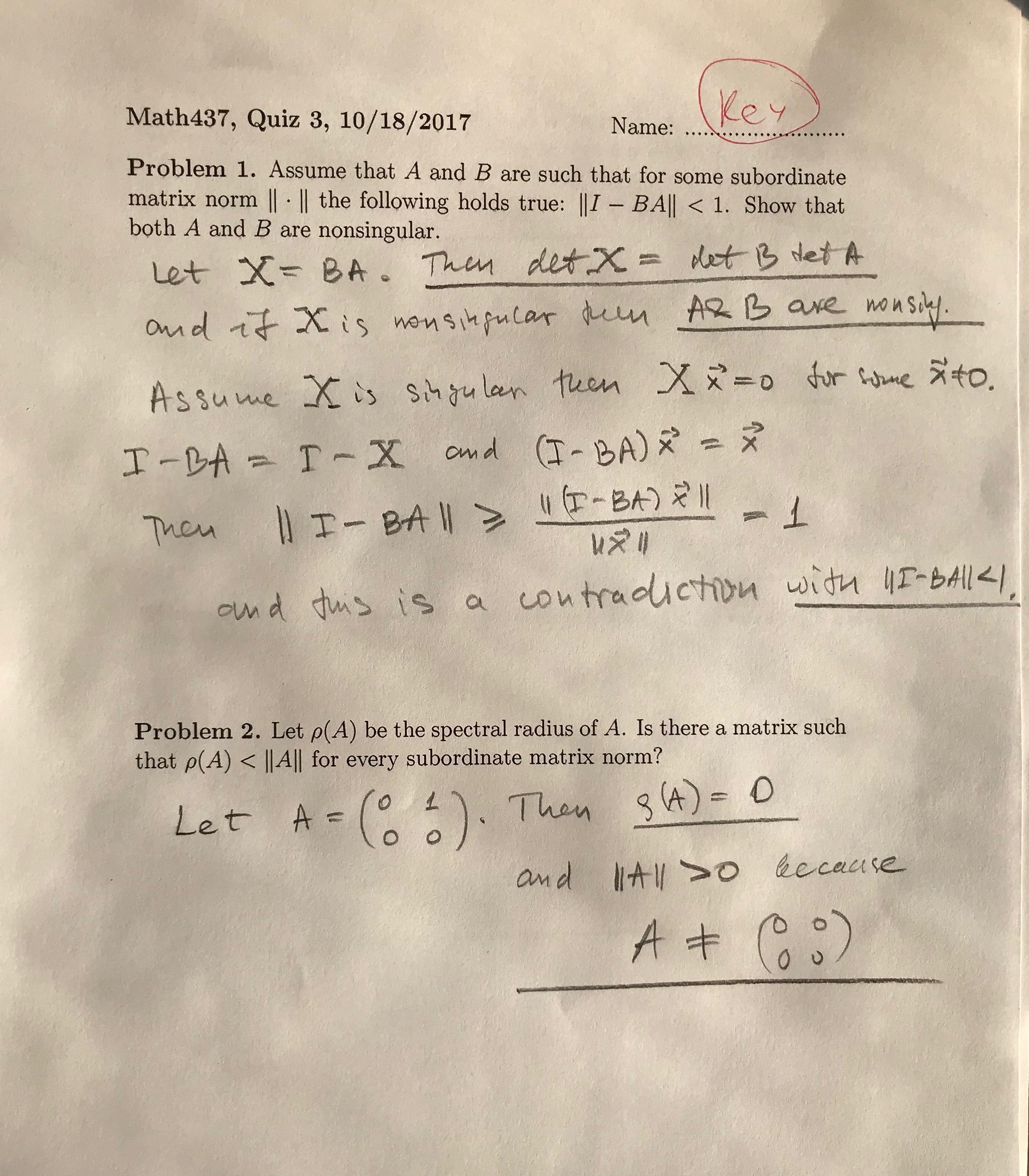 Math 437